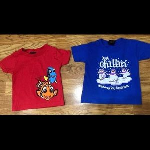 Two T-Shirts Size 12 Months